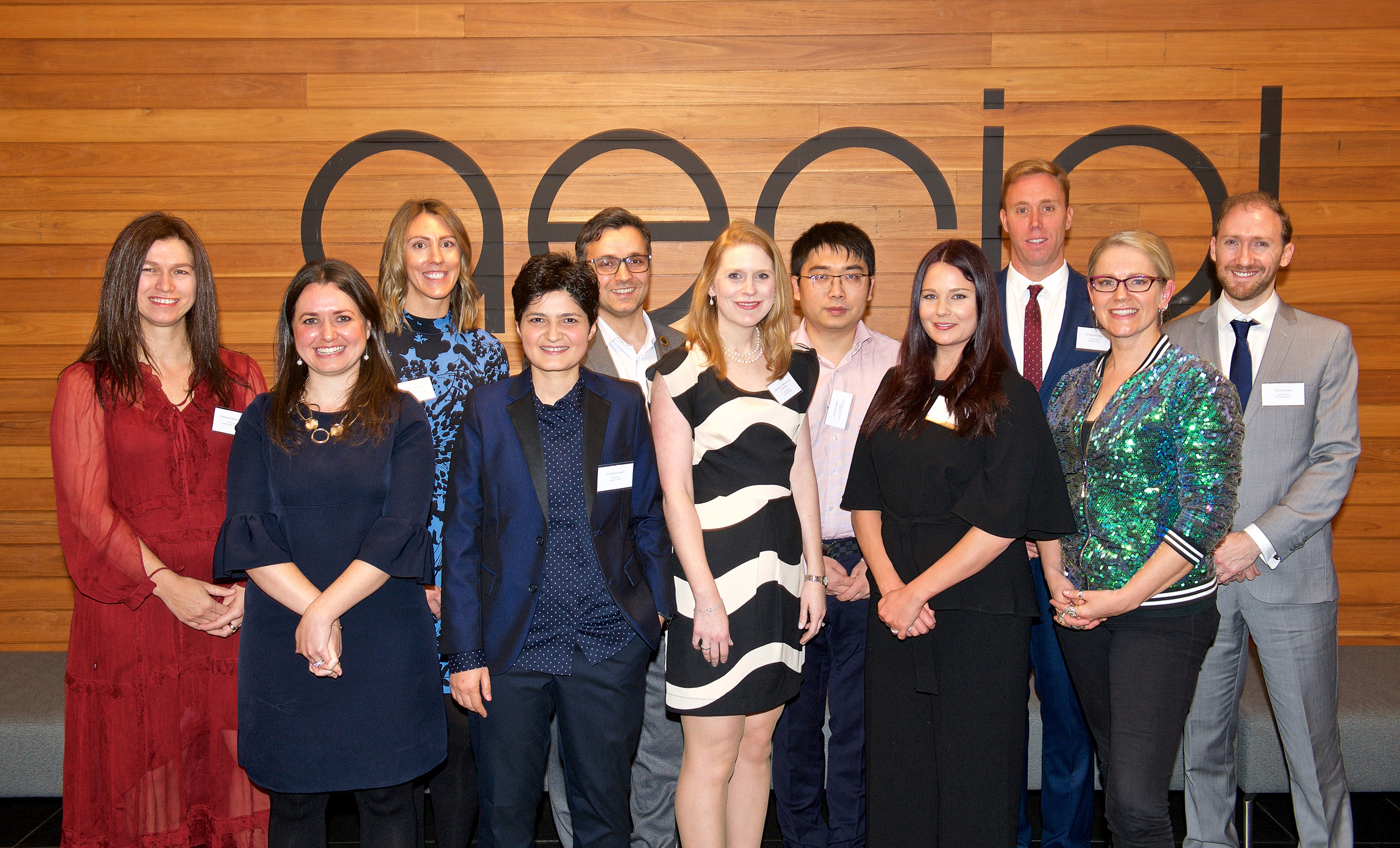 The 2019 NSW Young Tall Poppy Science Award winners.