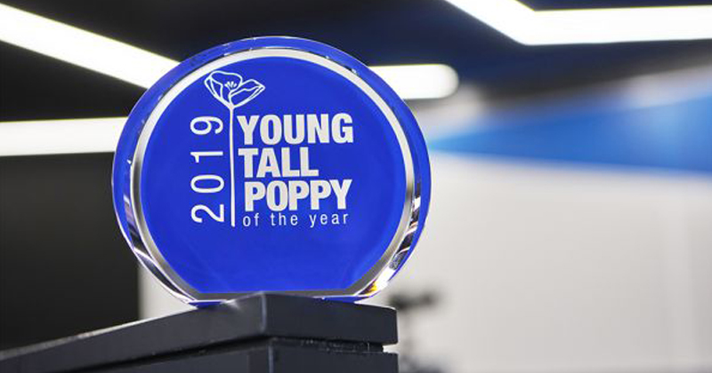 Young Tall Poppies of the Year 2019