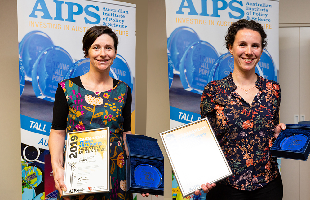 2019 Tasmanian Tall Poppy Award Winners